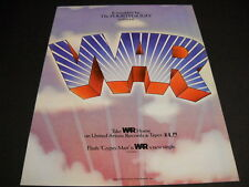 War It Wouldn't Be Fourth Of July without War 1973 Promo Poster Ad mint cond