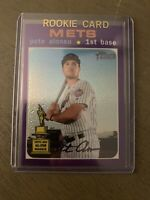 2020 Topps Heritage PETE ALONSO All-Star Rookie Purple Chrome Refractor MINT