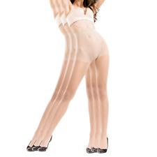 BONAS Pantyhose 3pairs Womens Silk Reflections Sheer Toe Silky Microfiber Oxygen