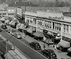 1940s+Main+Street+Shops+Westinghouse+Shoes+Paint+Neon+Signs+Film+Camera+Negative