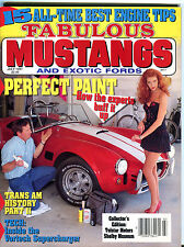 Fabulous Mustangs and Exotic Fords Magazine July 1991 Perfect Paint EX 012016jhe