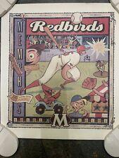 MEMPHIS REDBIRDS 1999 OPENING WEEKEND BASEBALL POSTER