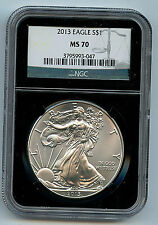 2013 Silver American Eagle Dollar MS70 PCGS Certified Coin C47