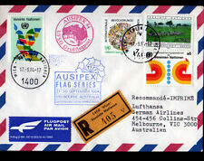 "ENVELOPPE Timbrée ""NATIONS UNIES"" Oblitération Flamme postale AVIATION en 1984"