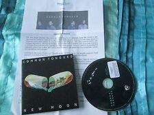 Common Tongues New Moon Promo stickers + PR Records Promo CD Single