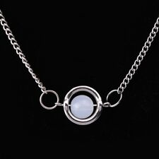 Moonstone Necklace Pendant charm sphere Twilight inspired bead gift magical uk