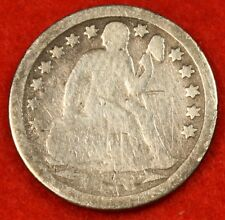 1853-P SEATED DIME AG COLLECTOR COIN GIFT CHECK OUT STORE SD26