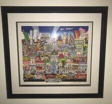 "Charles Fazzino "" New York And All That Jazz"" DX #32/50 RARE!!!!"