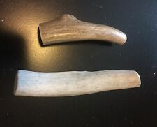 2 Small Elk/Deer Whole Antler Dog Chews..Free Shipping..100% Natural And Healthy