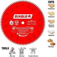 "FREUD DIABLO D1090X  254mm 10"" 90T ULTIMATE FLAWLESS FINISH MITRE &  TABLE BLADE"