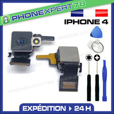 MODULE CAMERA APPAREIL PHOTO ARRIERE FLASH LED 5MP pour IPHONE 4 + OUTILS