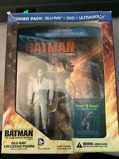 Batman The Dark Knight Returns Part 2 Blu-ray + DVD + UV with Exclusive Figure