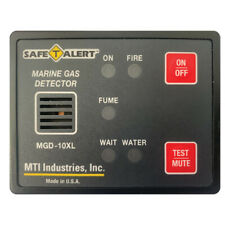 Safe-T-Alert Gas Vapor Alarm Fume, Fire, Bilge Water - Black Surface Mount
