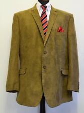 MS2443 JACK REID BHS MEN'S BROWN BLAZER JACKET SIZE  XXL /  47-50""