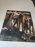 """Game Informer Video Game Magazine  """"L.A. Noire""""  Issue #203 2010"""