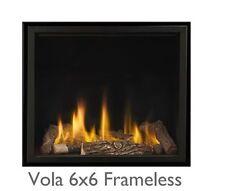 Vola Pinnacle 600 x 600 Frameless Remote Control Gas Fire 5 Year Warranty BNIB