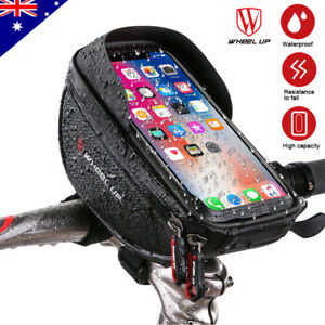 Bicycle Bike Front Frame Tube Bag Accessories for Mobile Phone Pannier Pouch