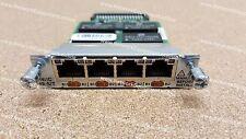 CISCO HWIC - 4b-s/t 4-PORT ISDN BRI S/T ad alta velocità scheda di interfaccia WAN