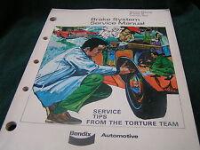 Genuine BENDIX BRAKE SYSTEM SERVICE Manual - Feb 1972 - 8-200-1A - FREESHIP