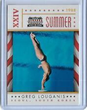 AWESOME 2012 PANINI AMERICANA GREG LOUGANIS CARD #16 ~ OLYMPIC DIVING LEGEND