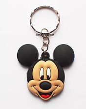 Cute Mickey Mouse Keyring Bagcharm Keychain Zip puller Rubber PVC UK Seller