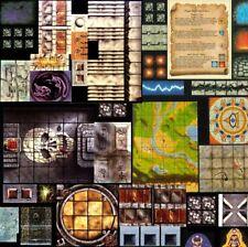 Heroquest Tiles Multi LIsting Morcar, Ogre Horde, Witch Lord, Kellar's Keep