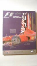 Vintage 2000 Formula 1 USGP, Indianapolis Motor Speedway – Official Race Program
