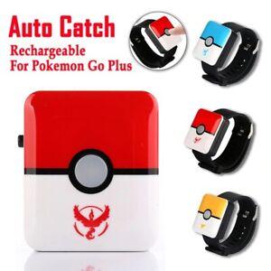 2021 Auto Catch Pokemon Bracelet For Pokemon Go Plus Bluetooth Rechargeable Squa