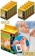 100 x Kinoki Gold Pflaster Vitalpflaster mit Ingwer Entgiftungspflaster Fuß Pads
