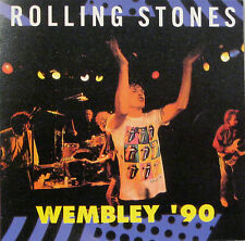 """THE ROLLING STONES """"WEMBLEY '90"""" double cd mint"""