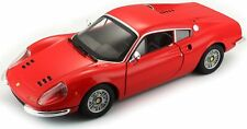 Ferrari 246 Gt Dino Red 1:24 Scale Diecast Model - 26015R *
