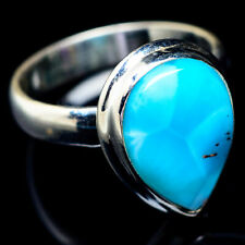 Larimar 925 Sterling Silver Ring Size 6.25 Ana Co Jewelry R6007F