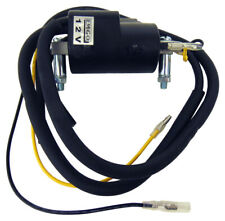 Emgo 12 Volt Ignition Coil with Dual Plug Wires 90mm