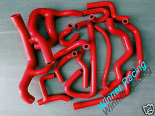 SILICONE RADIATOR&HEATER HOSE KIT RENAULT 19 16S 1.8L 1988-1997 1996 RED