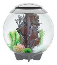 biOrb Nano-Aquarium Komplett-Set HALO 60 LED grau 50 x 58 cm