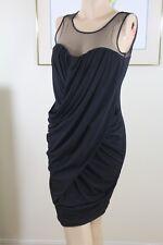 Prima Donna Black Evening Dress SZ 10