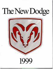 1999 Dodge 28-page Original Sales Brochure - Ram Truck Dakota Avenger Neon ACR