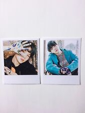 Suga BTS You Never Walk Alone Polaroids / Photocards Set of 2 Kpop
