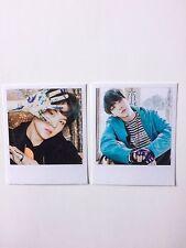 Suga BTS You Never Walk Alone Polaroids / Photocards Set of 2 Kpop