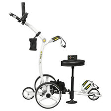 2018 WHITE Bat Caddy X4R Remote Control Electric Golf Bag Cart/Trolley + MORE