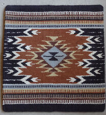 Wool Pillow Cover HIMayPC-61 Hand Woven Southwest Southwestern 18X18