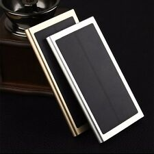 100000mAh Power Bank Slim Solar Panel Portable Battery Charger USB For Phone