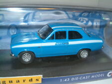 Corgi Vanguards 1/43 1972 Ford ESCORT MKI Mk1 Mexico Electric Monza Blue Va09521