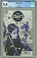 Fallen Angels #3 CGC 9.8 2nd Second Printing Edition Variant Ashley Witter Cover