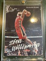 Zion Williamson 2019-20 ROOKIE PANINI CHRONICLES LUMINANCE RC PELICANS Mint Sp