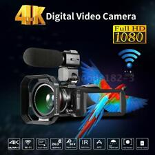 Andoer WiFi 4k UHD 24mp 30x Zoom Digital Video Camera Camcorder DV Recorder DVR