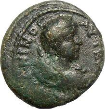 "Caracalla AE20 Thessalonica "" Legend in wreath """