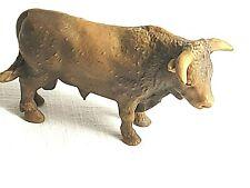 Schleich 13219 Bulle / Stier / Rind braun älter und selten *Rarität*