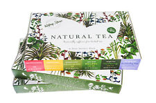 Thai Herbal Drink Dried Butterfly Pea Flower Lemongrass Mix Tea Boxes Gift Set