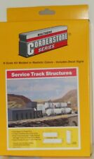 Walthers Cornerstone 933-3206 Service Track Structures N Scale - Unopened box.